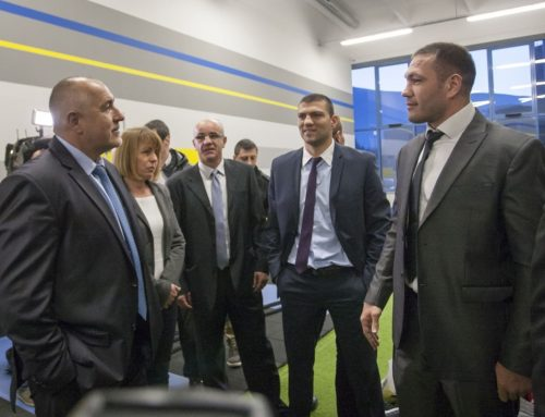 Sport Center PULEV is now oficially opened