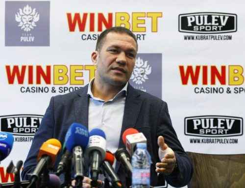 Kubrat Pulev: My goal is still the world title