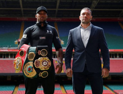 Press Confrerence in Cardiff announcing Kubrat Pulev's next fight against Anthony Joshua -September 2017