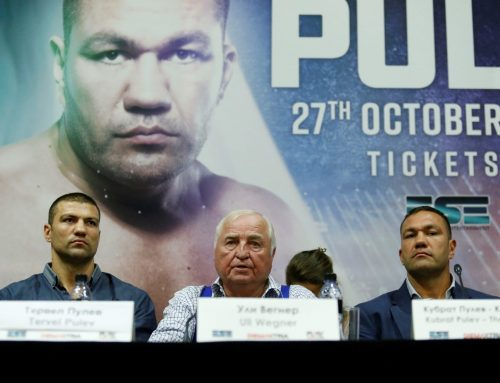 The Pulev brothers together in the ring
