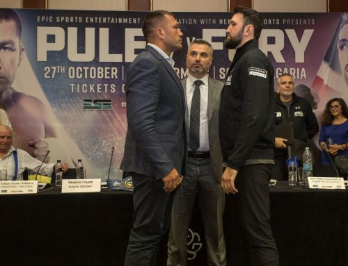 FIRE&FURY PULEV VS FURY FIRST OFFICIAL PRESSCONFERENCE