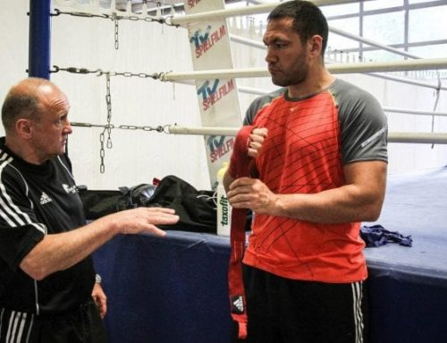 Kubrat Pulev with a third in a row win
