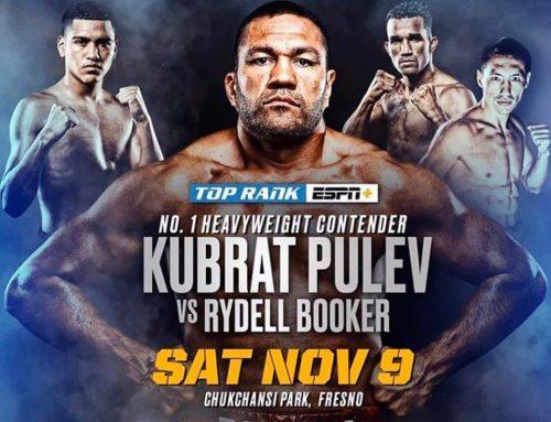 Kubrat Pulev vs Rydell Booker